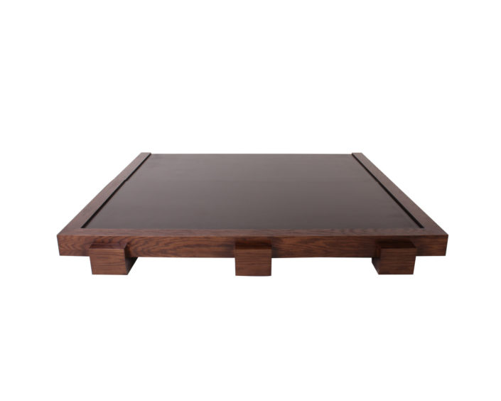 base de madera queen size